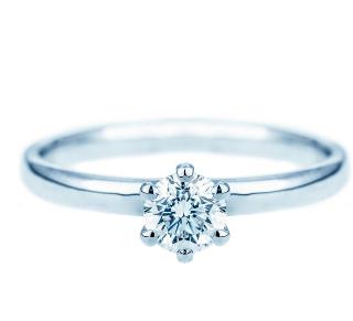 Verlobungsringe Wien Bei Juweliere Ellert 6rv119 Weissgold 6 Krappen