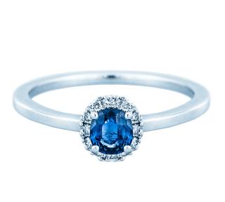 Verlobungsringe Wien Weissgold Mit Saphir Juweliere Ellert Wien
