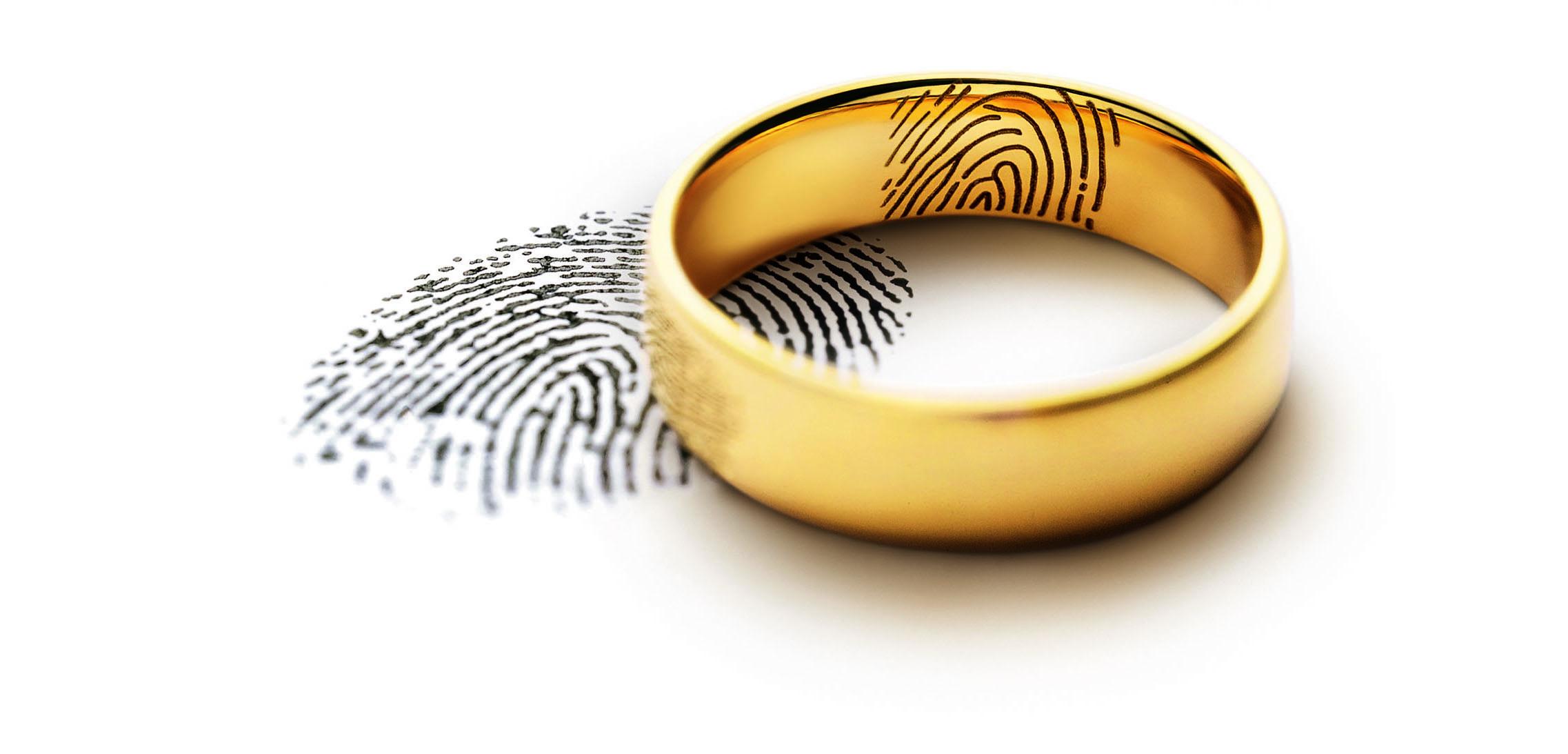 Meister Gravur Fingerprint