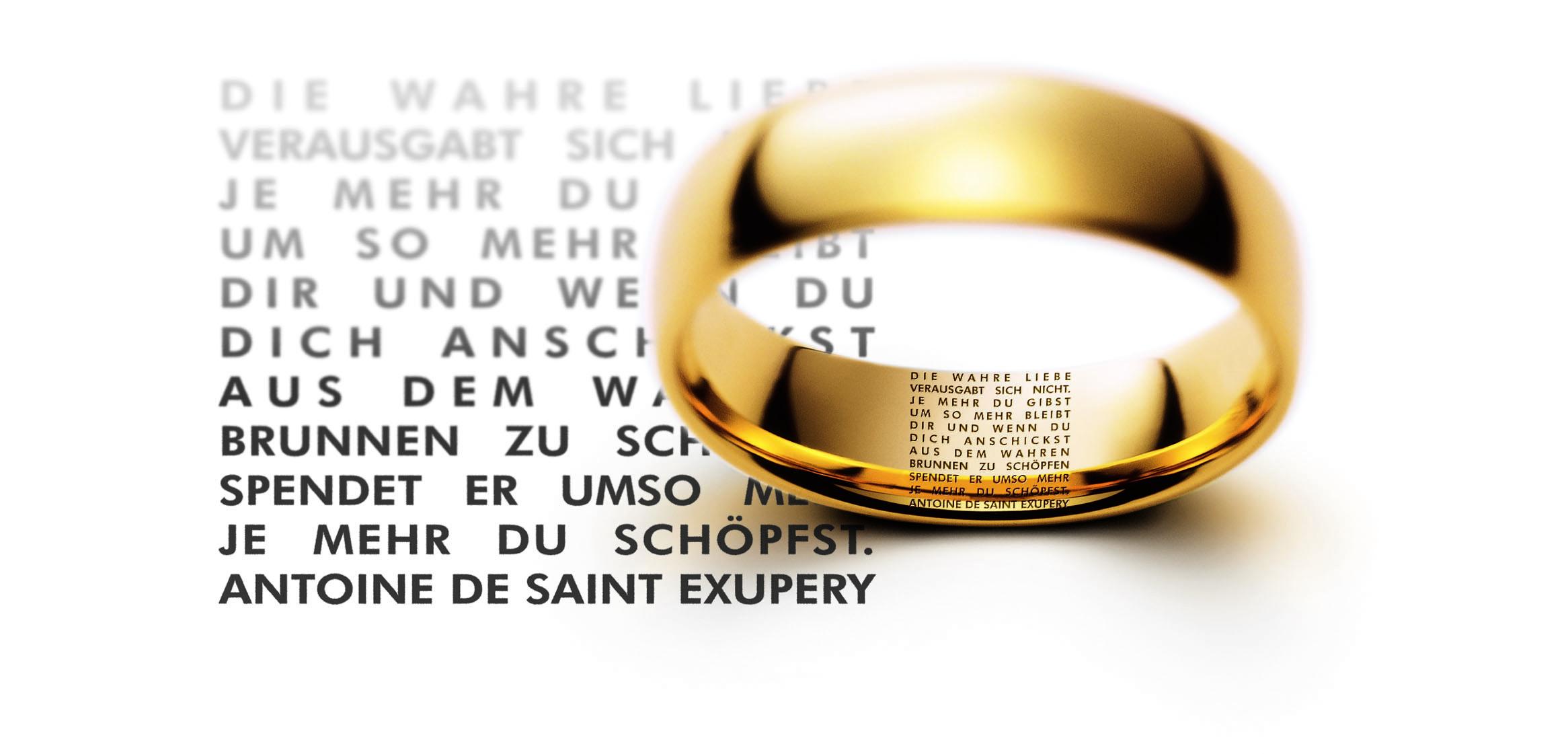 Meister Gravur Lovestory Gedicht